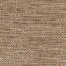 Aros - Linen - Wicker and cream coloured polyester and cotton blend threads woven into a fabric with no other pattern