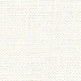 Aros - Snowdrop - Snow white coloured polyester and cotton blend fabric