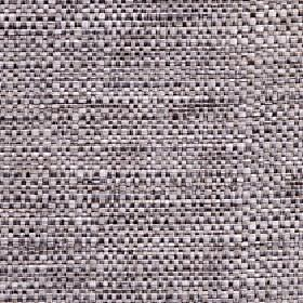 Aros - Silver - White, light grey and very dark grey-black coloured threads woven together into a polyester and cotton blend fabric