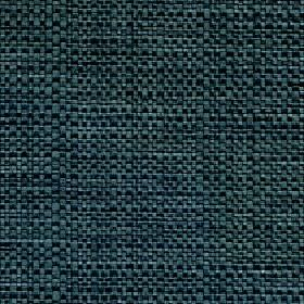 Aros - Teal - Marine blue coloured fabric blended from polyester and cotton with a few lighter coloured threads