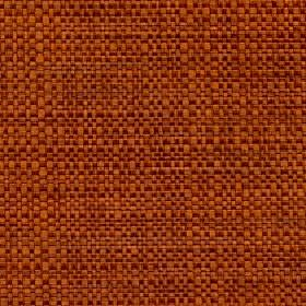 Aros - Burnt Orange - Fabric woven from threads in burnt orange and terracotta colours with a mixed polyester and cotton content