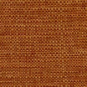 Aros - Apricot - Reddish brown and light gold coloured fabric woven from threads blended from polyester and cotton