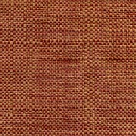 Aros - Spice - Polyester and cotton blend fabric woven using caramel and dusky red coloured threads