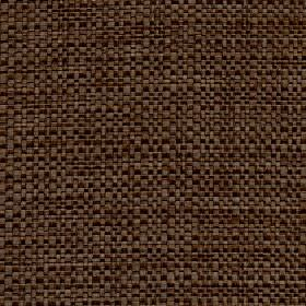 Aros - Teak - Two dark shades of brown making up a woven fabric blended from a mixture of polyester and cotton
