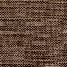 Aros - Chinchilla - Fabric made from taupe and chocolate brown coloured threads with a mixed polyester and cotton content