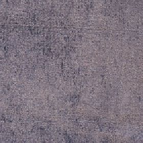 Ashton - Metal - Blue-grey and creamy lilac coloured uneven patches covering fabric made with a viscose and cotton blend