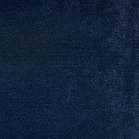 Ashton - Midnight Navy - Plain fabric made from midight blue coloured viscose and cotton
