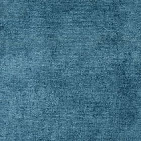 Ashton - Teal - Fabric made from plain denim blue coloured viscose and cotton