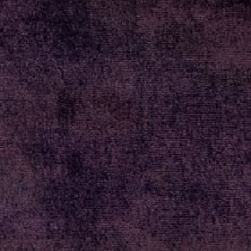 Ashton - Aubergine - Viscose and cotton blend fabric made in a dark shade of purple with a subtle hint of dark grey