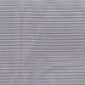 Astra - Metal - Dark grey stripes and hazy light grey wavy lines printed in a horizontal design on white 100% FR polyester fabric