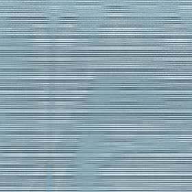 Astra - Teal - 100% FR polyester fabric made with a horizontal stripe and hazy wavy line pattern in three different marine blue shades