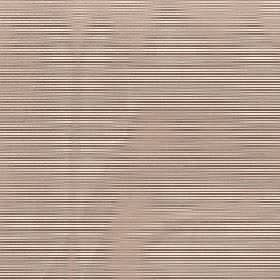 Astra - Warm Taupe - Beige, dark brown and cream coloured horizontal stripes and hazy wavy lines printed on fabric made from 100% FR polyester