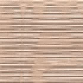 Astra - Brown Sugar - Light pink-beige coloured hazy patches randomly covering dark brown and cream striped 100% FR polyester fabric