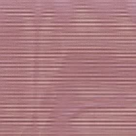 Astra - Garnet - Horizontal stripes and wavy lines printed in solid and hazy shades of dusky pink on fabric made from 100% FR polyester