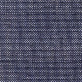 Oberon - Denim - Fabric woven from cotton, viscose, linen and polyester blend threads in Royal blue, light grey and white colours
