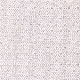 Quince - Ivory - Subtly patterned fabric made from cotton, viscose and linen with a repeated diagonal line design in white and pale grey