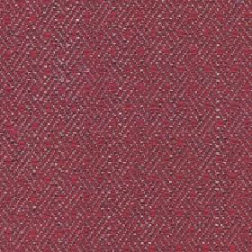 Quince - Red Rose - Subtly patterned dark grey and cherry coloured fabric made from cotton, viscose and linen with a diagonal line pattern