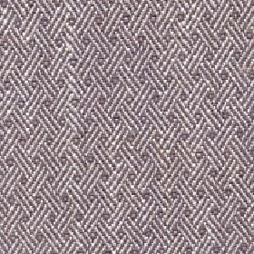 Quince - Walnut - Dark grey cotton, viscose and linen blend fabric behind a simple pattern of trios of diagonal lines in white