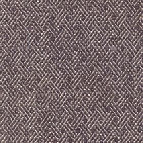 Quince - Dark Earth - Cotton, viscose and linen blend fabric in dark grey behind a white design of thin diagonal lines arranged in groups of