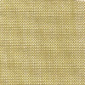 Oberon - Palm - Threads blended from pale yellow and light olive green coloured cotton, viscose, linen and polyester woven into a fabric