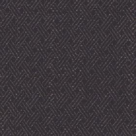 Quince - Jet - Cotton, viscose and linen blend fabric made with a subtle diagonal line pattern in two similar very dark shades of grey