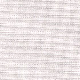 Oberon - Ivory - Plain chalk white coloured fabric made from a blend of cotton, viscose, linen and polyester with no pattern