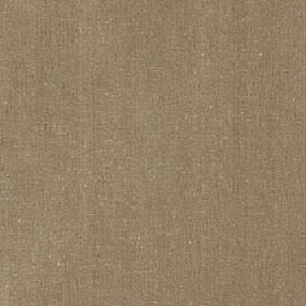 Satori - Chinchilla - Polyester, cotton and linen blend fabric made in a plain fawn brown colour