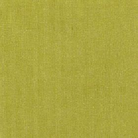 Satori - Oasis - Plain fabric made from bright lime green coloured polyester, cotton and linen
