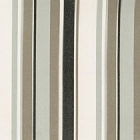 Asiss - Abyss - Fabric made from polyester, cotton and linen in grey, black, white and brown-grey with an uneven vertical stripe design