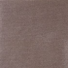 Cascada - Putty - Plain fabric made in a mid-brown colour with a 100% cotton content and a very slight hint of grey