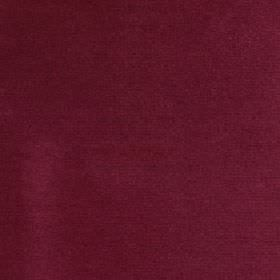 Cascada - Garnet - Fabric made from plain cherry coloured 100% cotton