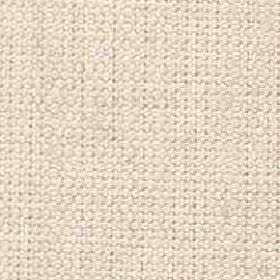 Denver - Natural - Warm cream coloured threads woven together into a viscose and linen blend fabric