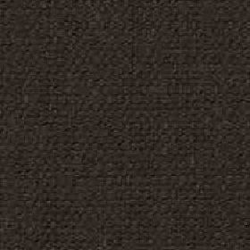 Denver - Dark Chocolate - Fabric woven from very dark grey coloured viscose and linen with a subtle dark brown tinge