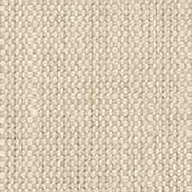Denver - Stone - Visose and linen blend fabric woven from plain barley coloured threads