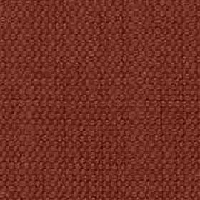 Denver - Spice - Terracotta coloured fabric woven using threads made with a mixed viscose and linen content