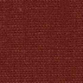 Denver - Rust - Threads blended from viscose and linen woven together into a dark brick red coloured fabric
