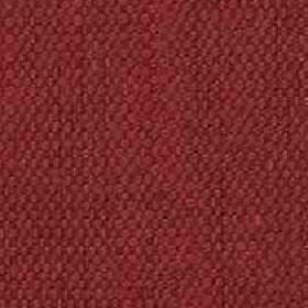 Denver - Russet - Scarlet coloured threads made from a blend of viscose and linen woven into a plain fabric