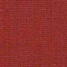 Denver - Crimson - Slightly patchy dark orange and tomato red colours covering fabric woven from a combination of viscose and linen