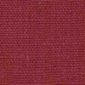 Denver - Lipstick - Viscose and linen blend fabric woven in a dark raspberry colour