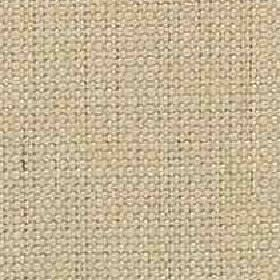Denver - Oatmeal - Viscose and linen blend fabric woven using cream and very pale green coloured threads