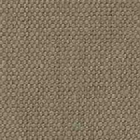 Denver - Mocha - Fabric woven from viscose and linen blend threads in a plain brown-grey colour