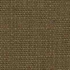 Denver - Coffee - Viscose and linen blend threads woven into a plain khaki coloured fabric