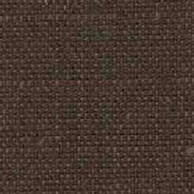 Denver - Chesnut - Chocolate brown coloured fabric woven from viscose and linen blend threads with some small dark green patches