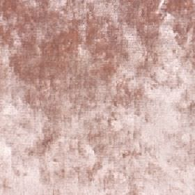 Diva - Pale Blush - Fabric made from cotton, viscose and polyester with a patchily coloured finish in white and dusky red-brown colours