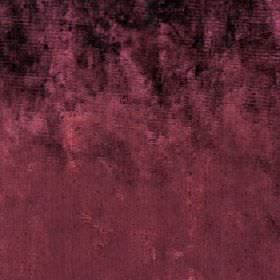 Diva - Rosewood - Cotton, viscose and polyester blend fabric made in a deep mulberry colour with some patches of darker and lighter colour