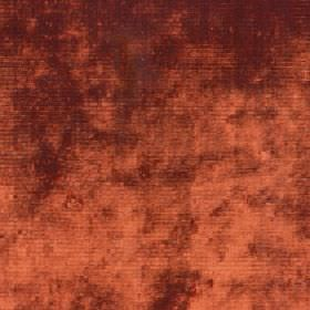 Diva - Tigerlilly - Dark orange and brown patches covering fabric made from 34% cotton, 42% viscose and 24% polyester