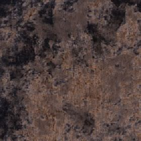 Diva - Chocolate - Fabric made from a blend of slightly patchy cotton, viscose and polyester in several dark shades of grey and brown