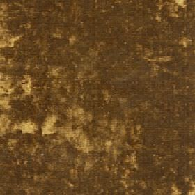 Diva - Gold - Patchily coloured fabric made from cotton, viscose and polyester in two very dark shades of gold