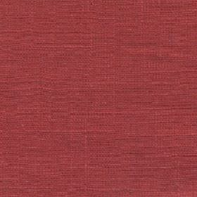 Eden - Fiesta - Garnet coloured fabric made entirely from unpatterned linen