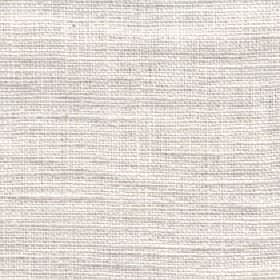 Eden - Ivory - Pale beige and off-white 100% linen threads woven into a fabric with no pattern